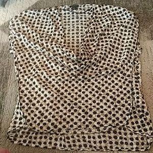 NWOT Ann Taylor sleeveless Blouse size 8